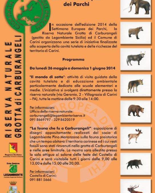 R.N. Grotta di Carburangeli – Settimana Europea delle Aree Protette – edizione 2014